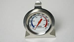Oven Thermometer, Stainless Steel, 3 Inch by Chef Craft