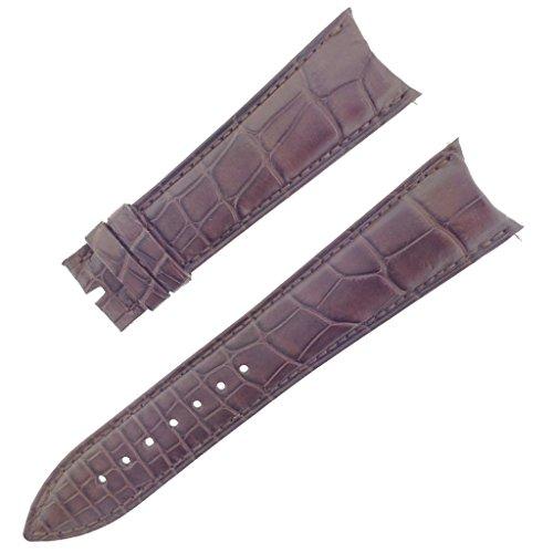 franck-muller-27k-22-18mm-genuine-alligator-leather-matte-brown-watch-band
