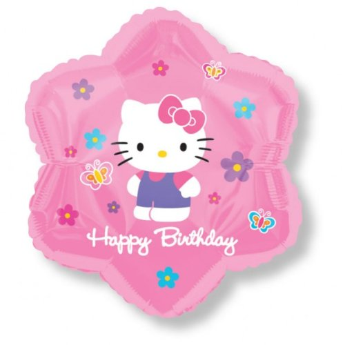 "18""Hello Kitty Balloon Flowers HBD - 1"