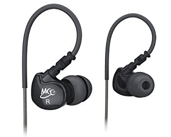 MEElectronics M6- BL(黒) イヤホン スポーツタイプ インイヤーモニター USカルフォルニア直輸入品