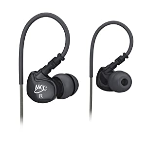 MEElectronics M6-BK-MEE Sport Noise-Isolating In-Ear Headphones with Memory Wire (Black)