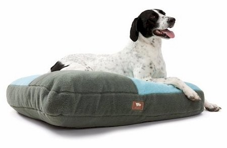 West Paw Design WPD-SO082BST Eco Slumber Dog Bed - Large - Bright Stripe