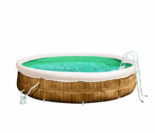 Pool aus holz was for Rundpool aufblasbar