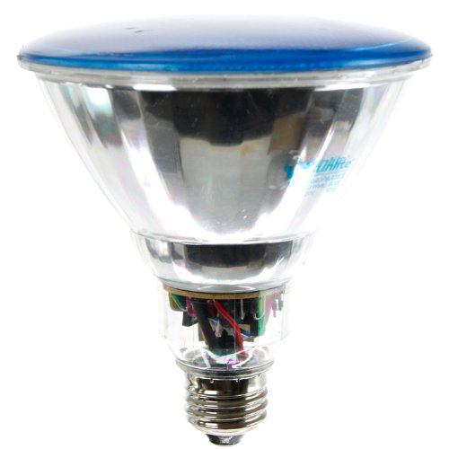 Sunlite SL23PAR38/B 23 Watt PAR38 Energy Saving CFL Light Bulb Medium Base Blue