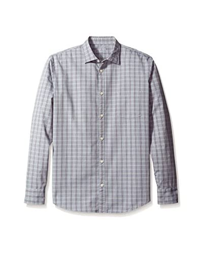 Color Siete Men's Long Sleeve Crosby Checked Shirt