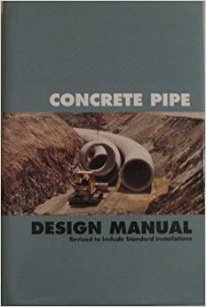 american concrete pipe association design manual