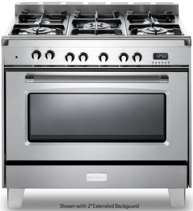 Verona-VCLFSGG365SS-36-Classic-Gas-Range-with-4-cu-ft-Convection-Oven-5-Sealed-Gas-Burners-in-Stainless-Steel