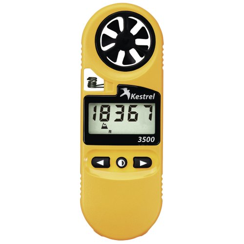 3500 Pocket Weather Meter - Yellow front-1054260