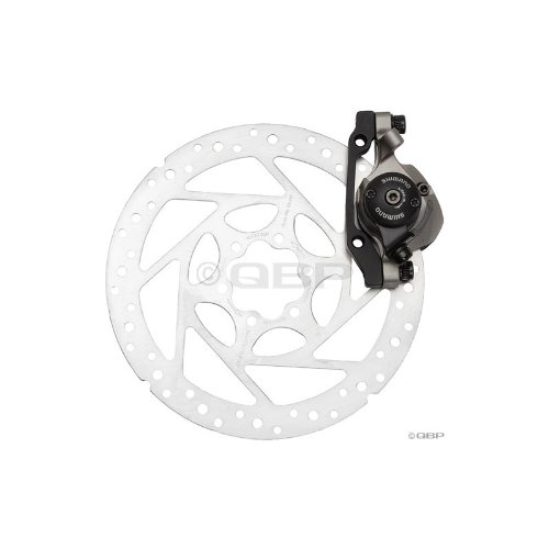 Buy Low Price Shimano BR-M495 mech IS-disc brake, 160mm – Front (EBRM495FXB)