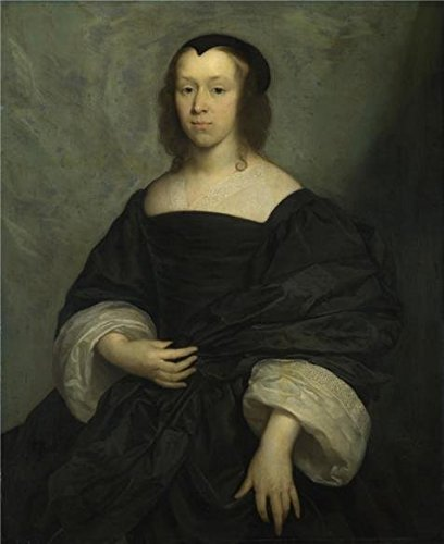 [Oil Painting 'Cornelius Johnson - Portrait Of A Lady,1655' Printing On Perfect Effect Canvas , 20x25 Inch / 51x62 Cm ,the Best Bedroom Decoration And Home Artwork And Gifts Is This High Resolution Art Decorative Prints On] (Leo Johnson Costume)