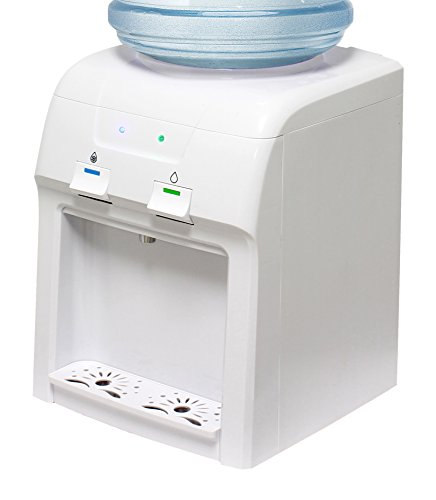 Vitapur Countertop Room Cold Water Dispenser, White (Top Loading Cooler compare prices)