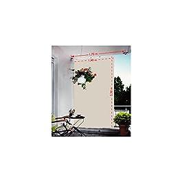 Floracord 05-77-67-00P - Vela de sombra para patio, gris