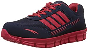 Ezing Men's Red Running Shoes
