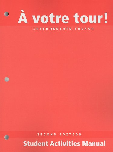Votre Tour, Student Activities Manual