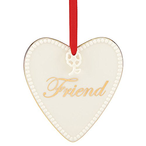 Lenox Expressions from The Heart, Friend China Ornament