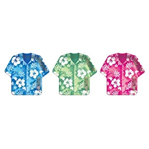 Click to buy Bahama Breeze Shirt-Shaped Dinner Plates Assorted (8 count)from Amazon!