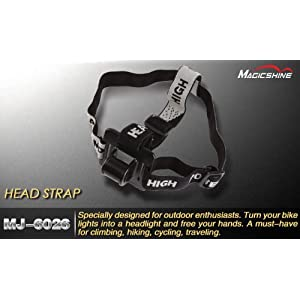 Amazon.com: Magic Shine Bicycle Light /bike Light Head Strap: Everything Else
