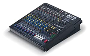 Alto Professional ZMX124FXU, 12-Channel Compact 4 bus mixer with 256 available 24-bit DSP FX and USB i/o