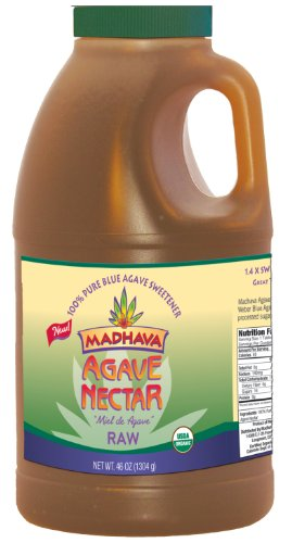 Madhava Organic Agave Nectar - Raw, 46-Ounce