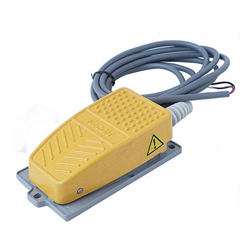 feel-glad-tm-pedale-industriale-con-2-m-cavo-giallo