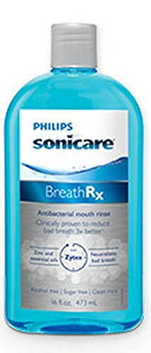 BreathRx Anti-Bacterial Mouth Rinse , Large Economy Size.