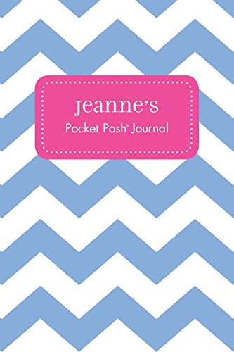 Jeanne's Pocket Posh Journal, Chevron