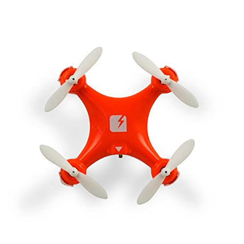 """SKEYE Nano Drone - Ultrasmall, Ultramaneuverable Quadcopter - 1.57x1.57"""" - Throw 'n Fly - Three Flight Modes - Great for Beginners - Bank, Flip and Barrel Roll at Lightning Speed - One Year Warranty"""