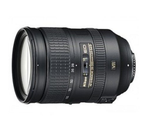NIKON AF-S 28-300 mm f / 3.5 - 5.6 mm ED VR Lens + HTMC UV Filter 77mm + LPXPERTM Neoprene Case