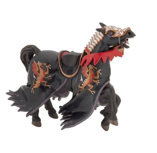 Papo Shadow Warrior Horse Figure
