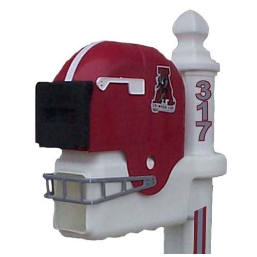 Alabama Crimson Tide Football Helmet Mailbox