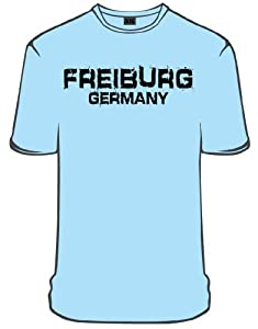 NYC Specials Germany Freiburg T-Shirt, skyblue