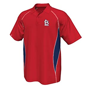 St. Louis Cardinals Athletic Advantage Red Polo Shirt by VF