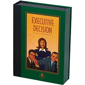Executive Decision Bookshelf Game