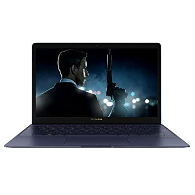 "Asus Zenbook 3 UX390UA-GS048T(Intel Core i7 7500U, 16GB, 512 GB SSD, 12.5"" FHD Screen, Win 10, (910 Grams) Blue, 2 Year Warranty"