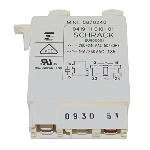 Miele T227 T4223C T4123 Tumble Dryer Relay (6 Terminal)