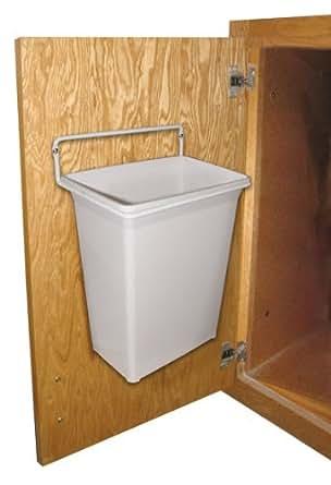 Amazon Com Kv Door Mounted Waste Bin For Vanity 9qt