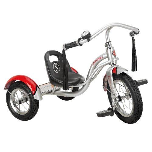 12-Silver-Retro-Tricycle-Schwinn-Roadster-Kids-Trike-Vintage-Style