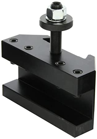 "Dorian Tool QITPN-1 Square Shank Chromium Molybdenum Alloy Steel Quick Change Turning and Facing Toolholder for QITP50N Quadra Indexing Quick Change Tool Post, 1-1/4"" - 1-1/2"" Tool Capacity, 6"" Width, 2-31/64"" Height"