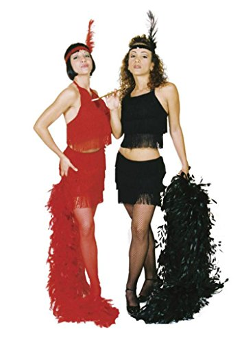 Underwraps Womens 1920'S Flapper Fringed Halter Top Adults Halloween Costume