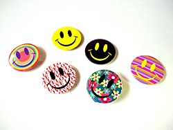 Smiley Badges (All 6pc)