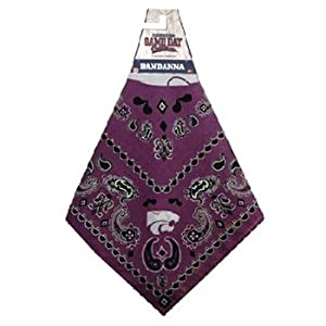 Buy NCAA Kansas State Wildcats Team Color Bandana by Game Day Outfitters