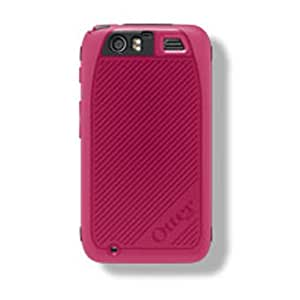 OtterBox Defender Series for Motorola Atrix HD - Retail Packaging - Pink Strike