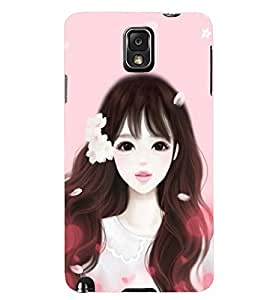 Printvisa Girl Dressed Like Cindrella Back Case Cover for Samsung Galaxy Note 3 N9000::Samsung Galaxy Note 3 N9002::Samsung Galaxy Note 3 N9005 LTE