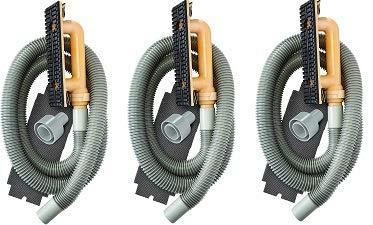 Hyde Tools 09165 Dust-Free Drywall Vacuum Hand Sander with 6-Foot Hose, 6' (3) (Tamaño: 3)