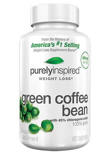 Purely Inspired Green Coffee Bean, 60 Count (Green Coffee Tablets compare prices)