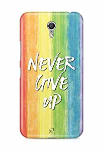 YuBingo Never Give Up Designer Mobile Case Back Cover for Lenovo Zuk Z1