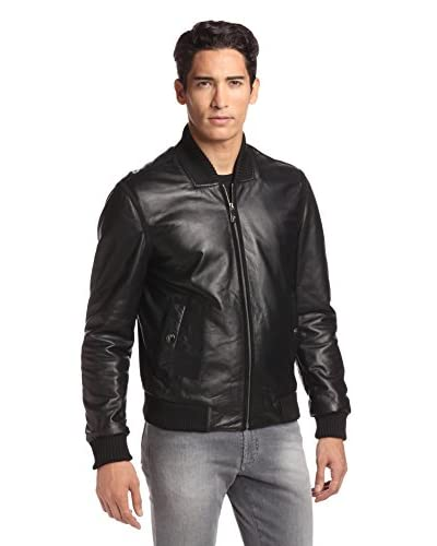 Versace Collection Men's Leather Jacket