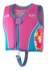 Speedo Kids' UPF 50+ Begin to Swim Neoprene Swim Vest, Pink, Large
