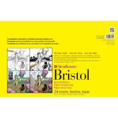 Amazon.com: strathmore bristol vellum paper pad, 9 x