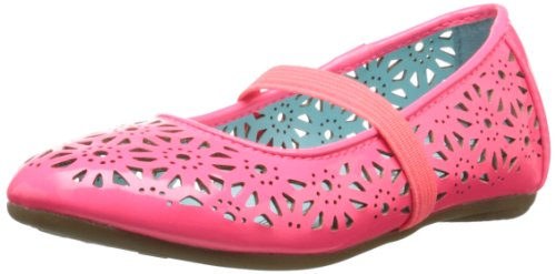 Kenneth Cole Reaction May To Side 2 Ballet Flat (Toddler/Little Kid),Neon Coral,8 .5 M Us Toddler front-886296